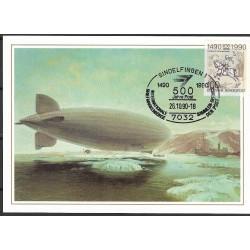 """1445. Luftschiff LZ127""""Graf Zeppelin""""1931,BDR,/*/,-o,"""