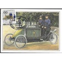 1474.- Motorpostwogen Berlin, um 1900,BDR,/*/,-o,