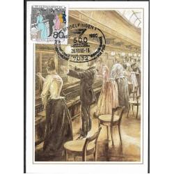 1474.- Femsprechvermittlungsstelle, Berlin, um 1900,BDR,/*/,-o,