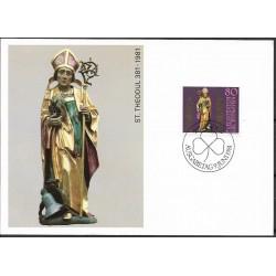 775. ST. THEODUL 381- 1981, Liechtenstein,/*/,