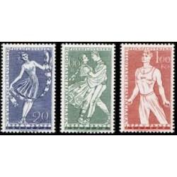 836- 838./3/, I.celostátní spartakiáda 1955, II.část,**,