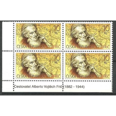 734.,čtbl,tisk, Alberto Vojtěch Frič,**,