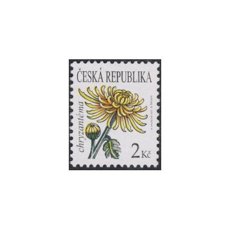 684. Krása květů - Chryzanténa - výplatní,**,