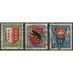 172- 174./3/, Pro Juventute 1921,o,