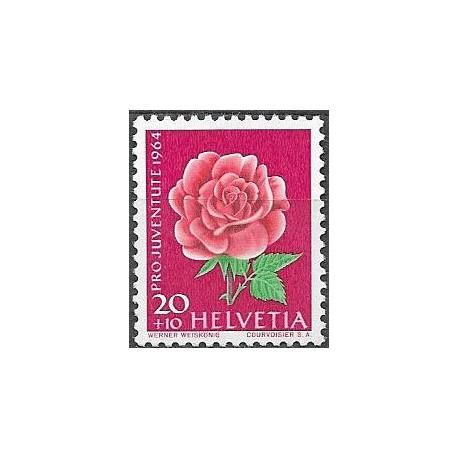 805.- PRO JUVENTUTE 1964, růže,**,