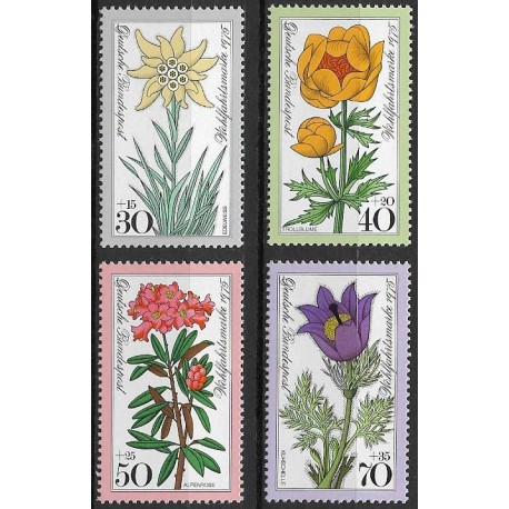 867- 870./4/, Alpská květena,**,