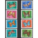 2494- 2501./8/, Motýli,**,