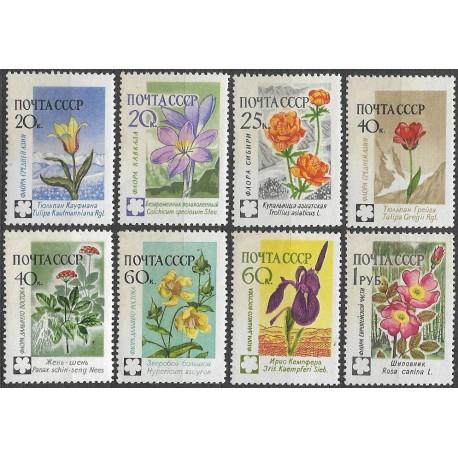 2418- 2425./8/, Flóra- květiny,**,
