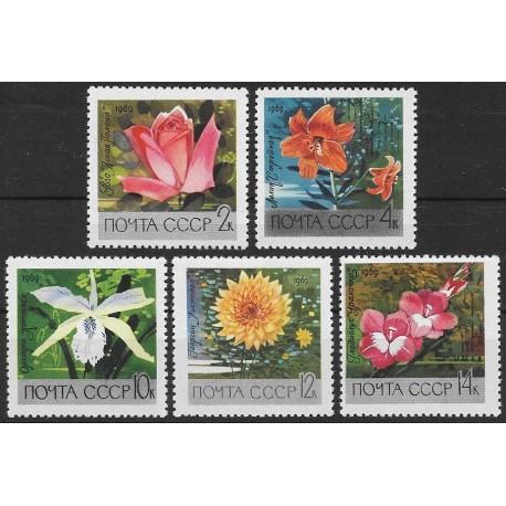 3620- 3624./5/, Flóra- květiny,**,