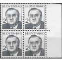 166.,čtbl, prezident M.Kováč,**,