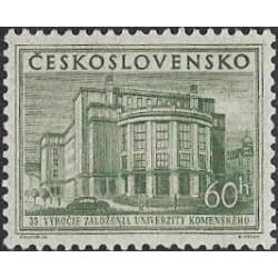 816.- 35. výročí Univerzity Komenského v Bratislavě,**,