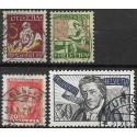 222- 225./4/, Pro Juventute 1927,o,