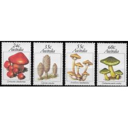 762- 765./4/,, houby, Austrálie,**,