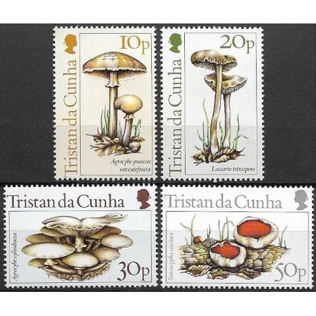 365- 368./4/, Tristan da Cunha, houby,**,