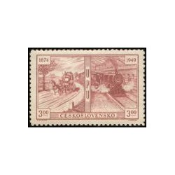 508- 510./3/, 75. výročí Světové poštovní unie,**,