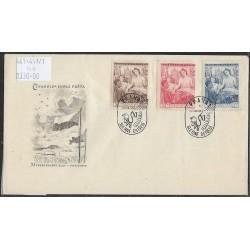 467- 469.,/3/,FDC/1/, XI. všesokolský slet  v Praze,o-,