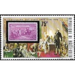 553- R. de Haute Volta- známka na známce,o,