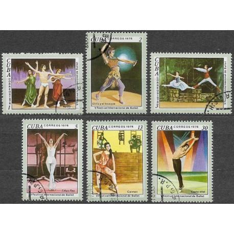2168- 2173./6/, UMĚNÍ- balet 1976,o,