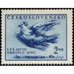 571- I. Česskoslovenský sjezd obránců míru 1951,**,
