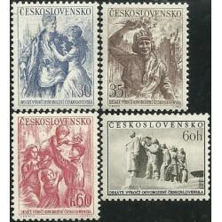821- 824./4/, 10. výročí osvobození Československa ,**,