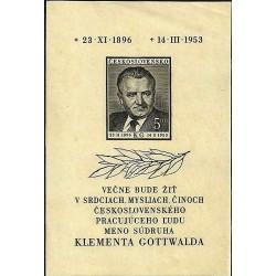 719.A, Úmrtí Klementa Gottwalda ,**,