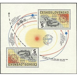 2692.A,fl2, Interkosmos - výzkum Halleyovy komety,**,