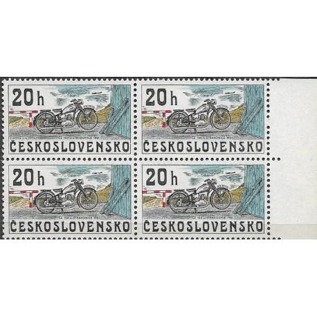 2154.-,čtbl, Z historie motocyklů,**,