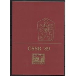 2874- 2920, Dárkové album ČSFR 1989,**,