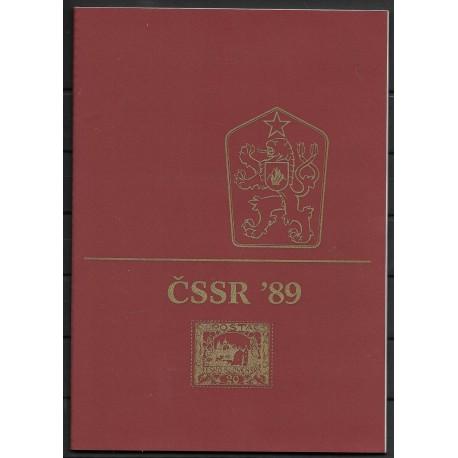 Dárkové album ČSFR 1989,**,