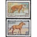 2275- 2276./2/, tygr, kůň,**,