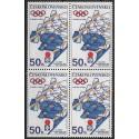 1939.- ,čtbl, XI. Zimní olympijské hry Sapporo 1972,**,