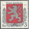 1. Malý státní znak České republiky,**,