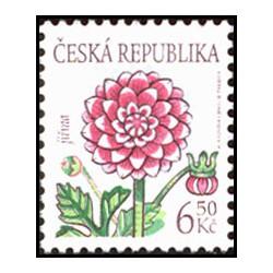 379., Krása květů- Jiřina,**,