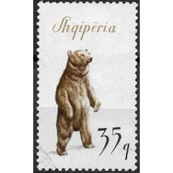 1013.- Albanie- medvěd,o,