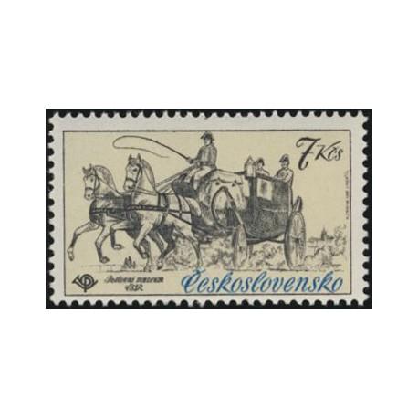 2473.- Poštovní muzeum- historické poštovní vozy,**,