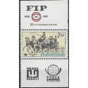 2489.,KK, Mezinárodní výstava poštovních známek FIP-PRAGA,**,