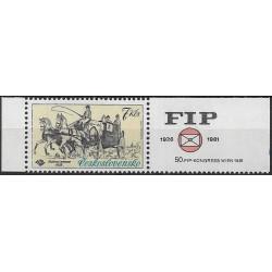 2489.,KP, Mezinárodní výstava poštovních známek FIP,**,