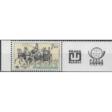 2489.,KP, Mezinárodní výstava poštovních známek PRAGA,**,