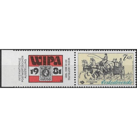 2489.,KL, Mezinárodní výstava poštovních známek WIPA,**,