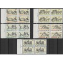 2469- 2473./5/,čtbl,datum, Poštovní muzeum- historické poštovní vozy,**,