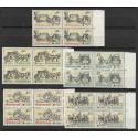 2469- 2473./5/,čtbl, Poštovní muzeum- historické poštovní vozy,**,