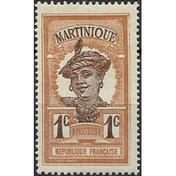 56.- Martinique, Amerika, Kribská oblast- domorodka,*,