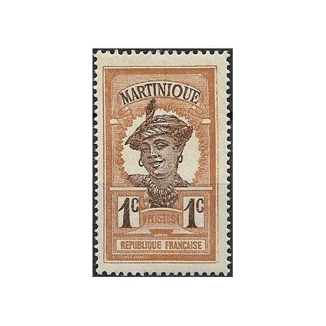 56.- Martinique, Amerika, Kribská oblast- domorodka,*,