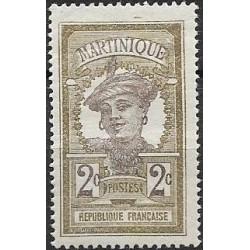 57.- Martinique, Amerika, Kribská oblast- domorodka,/*/,