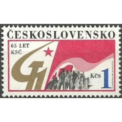 2739.- 65. výročí založení KSČ,**,