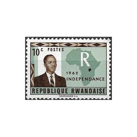 1.- Prezident Grégoire Kayibanda,**,