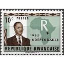 1.- Prezident Grégoire Kayibanda 1962,**,