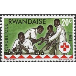 45.- 100 let červeného kříže,**,