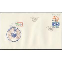 """2652.FDC, Světová poštovní unie,o"""","""