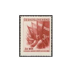 698-  Světový kongres národů za mír,**,